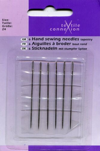 18 TYPES CLEARANCE Hand Sewing Needles Bulk School Clubs Presents 1 2 4 8 Packs