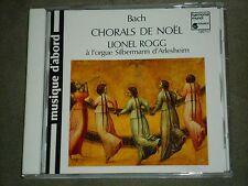 Johann Sebastian Bach Chorals De Noël Lionel Rogg Harmonia Mundi CD