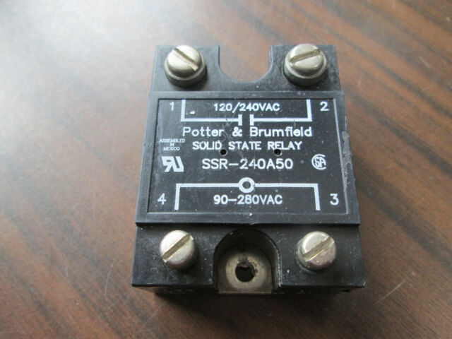 Potter /& Brumfield Solid State Relay SSR-240A50