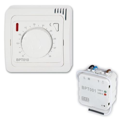 Thermostat Thermostat Thermostat Funk-Set RTR CZ Festanschluss Unterputz 67fe28