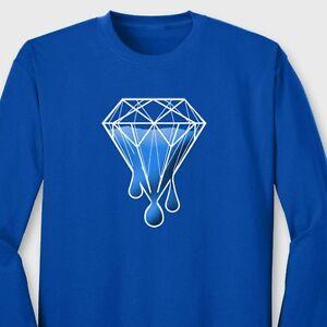 Diamond-Melting-illest-Dope-T-shirt-Swag-xo-The-Weeknd-Long-Sleeve-Tee
