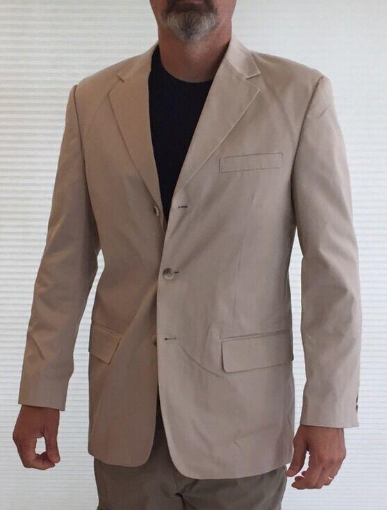 Tasso Elba Mens-Size Medium New Without Tags Medium Weight Cotton Blazer