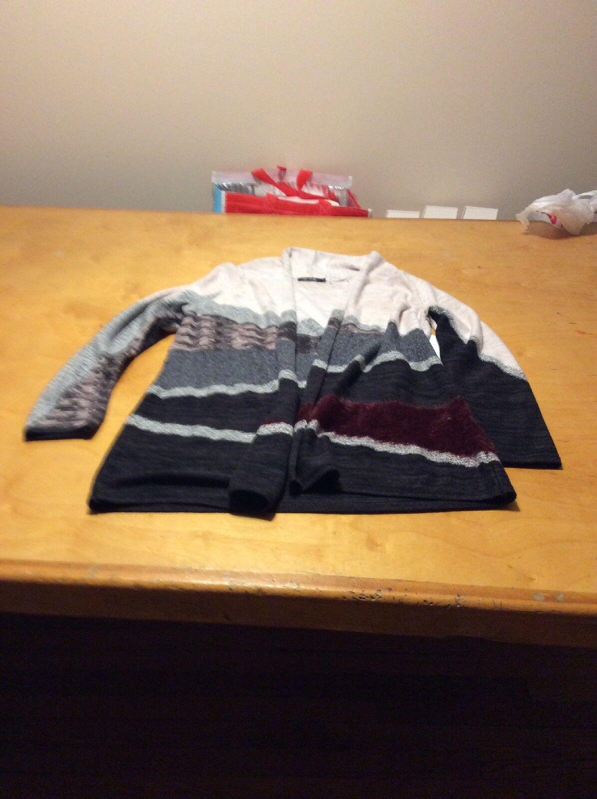 Nic & Zoe sweater size large P9