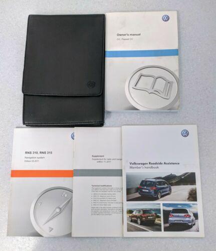 GENUINE VW CC PASSAT CC 2012-2016 HANDBOOK OWNERS MANUAL RNS 310 WALLET L-886