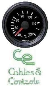 Details about VDO WATER TEMPERATURE GAUGE, mechanical,40 - 120ºC, Capillary  Length 2600mm