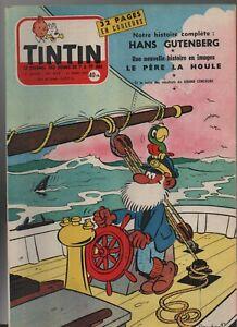 Journal TINTIN n° 439 du 21 mars 1957. Très Bel état - Couverture MACHEROT