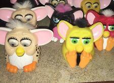 Lot Of 8 Mc'Donalds Furby Toys Furbies 1998 Tiger Electronics