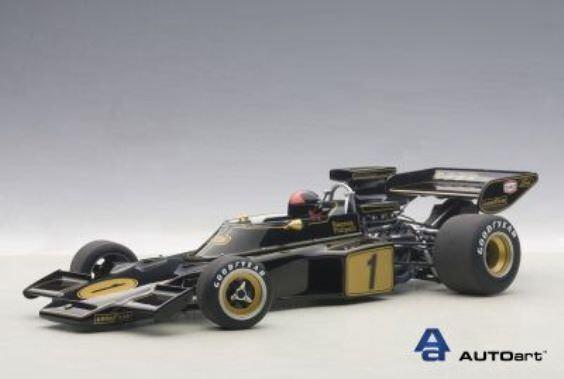 Lotus 72E F1 #1 Season 1973 E.Fittipaldi With Figure Autoart 1:18 AA87328 | Une Forte Résistance à Chaleur Et Résistant
