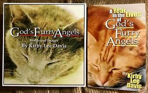 God-039-s-Furry-Angels-Books-1-amp-2-1st-Edition-signed-illustrated-paperbacks