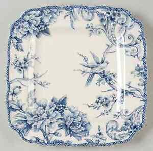 222-Fifth-ADELAIDE-BLUE-amp-WHITE-Square-Dinner-Plate-9068088