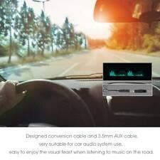 Vfd Clock Music Spectrum Sound Level Indicator Dot Matrix Audio Vu Meterampremote