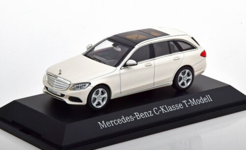 1:43 norev mercedes c-class s205 Estate 2014 whitemetallic Special