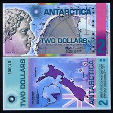 Antarctica, $2, 2014, Polymer - Redesigned