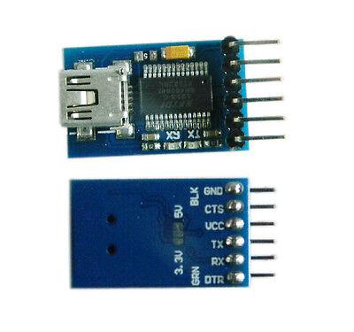 1Pcs New FT232RL Mini USB to RS232  Serial adapter module For Arduino pro mini