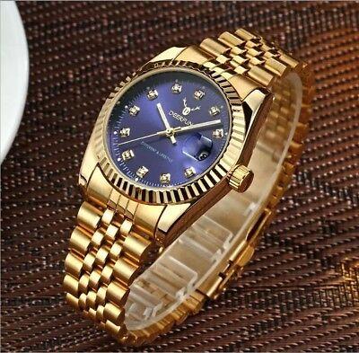 Kenntnisreich Luxury Brand Mens Womens Stainless Steel Watch Water Resistant Quartz Sale