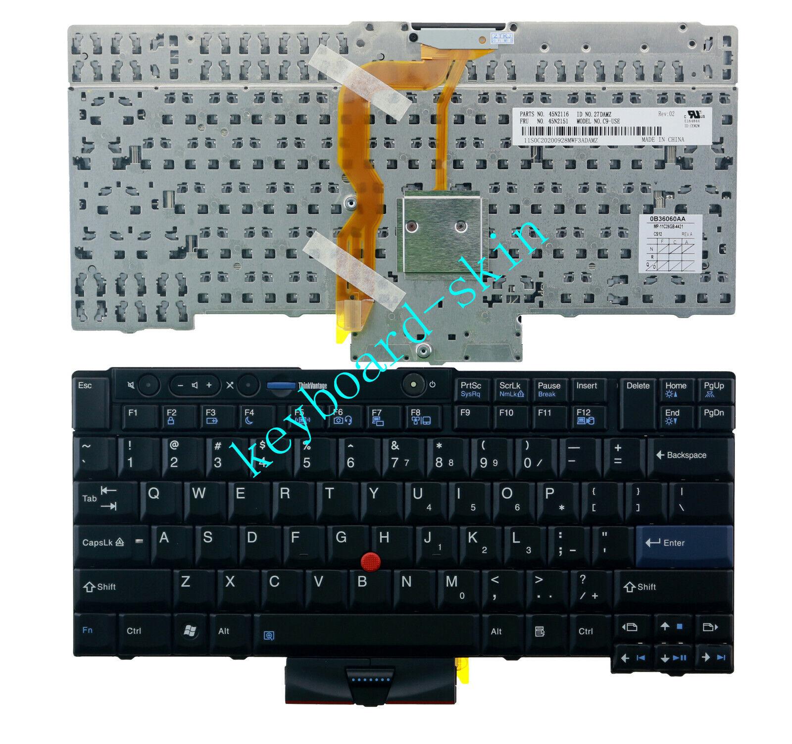 For lenovo IBM Thinkpad W520 W510 T420 T510 T520 X220 laptop MP-08G33US Keyboard