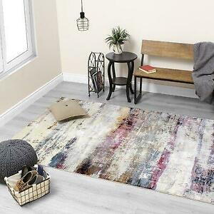 17 Stories Ahlana Abstract Cream Area Rug - 76% Off Canada Preview