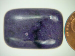 BUTW-Genuine-African-Sugilite-22-5-ct-Rectangle-Cabochon-Lapidary-Gemstone-9973K