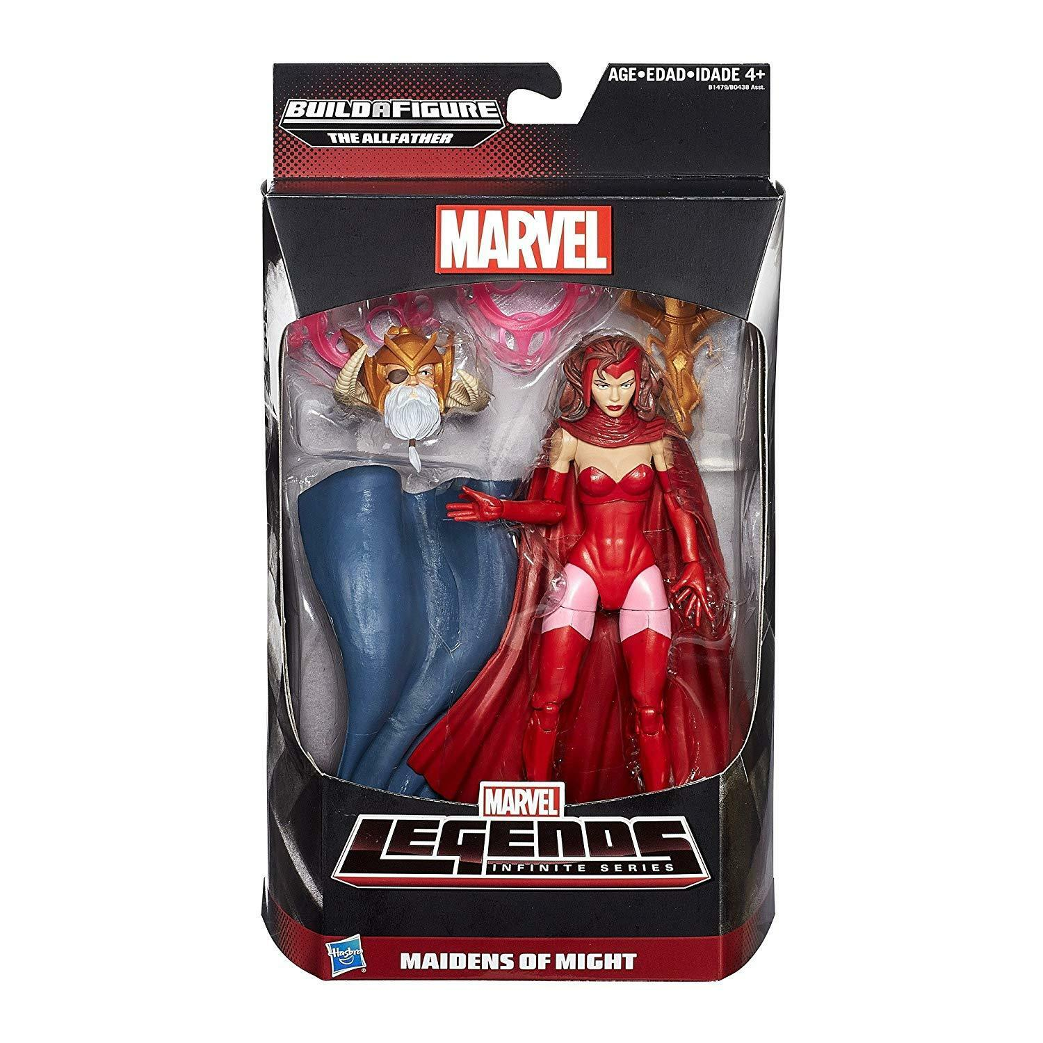 Marvel Legends Infinite Series 6 inch Maidens of Might Figure Scarlett Witch
