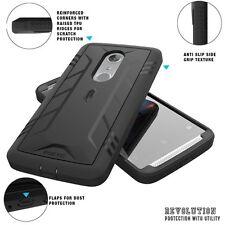 POETIC 【Revolution】 Premium Rugged Protection Hybrid Case for ZTE AXON 7 Black