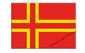 Autocollant NORMANDIE drapeau drapeau 8 x 5 CM des autocollants autocollant