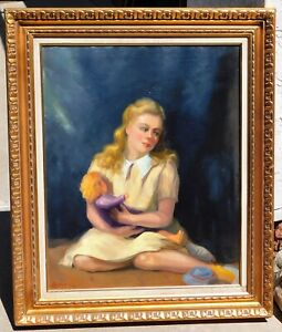Arnold-Lahee-b-1888-vintage-oil-canvas-24-x-30