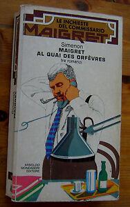 SIMENON-Maigret-al-Quai-des-Orfevres-3-romanzi-Mondadori-p-e-1979