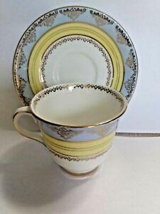 Royal-Stafford-Demitasse-Tea-Cup-and-Saucer-Bone-China-England-8166