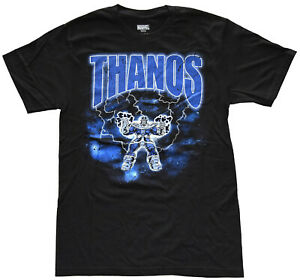 Marvel-Thanos-Avengers-Endgame-Black-Men-039-s-T-Shirt-New