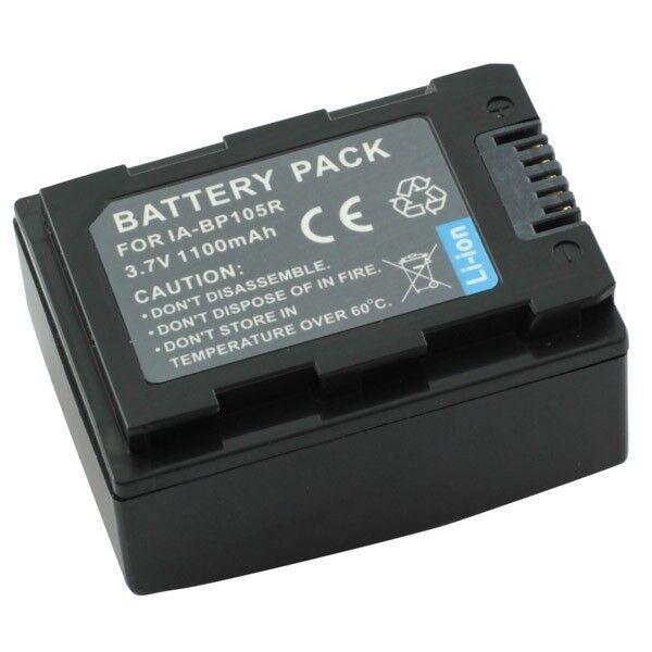 Battery For Samsung SMX-F50 SMX-F70 Battery IA-BP105R Li - Ion