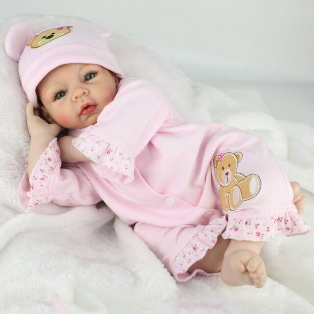 22 reborn baby dolls vinyl silicone boy doll lifelike newborn babies xmas gifts
