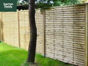 Contemporary Garden Screens Modern Treated Fence Panels
