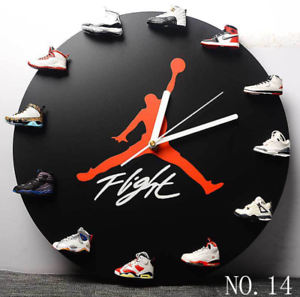 Air-Jordan-1-12-Clock-Mini-3D-HypeBeast-Sneaker-Clock-with-12-pairs-of-Sneakers
