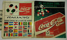 COMPLETE ITALY 1990 COCA COLA WORLD CUP ALBUM SOCCER URUGUAY VERSION ROOKIE CARD