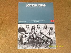 Ozark-Mountain-Sheet-Music-Jackie-Bleu-1975-4-pp-VG-shape