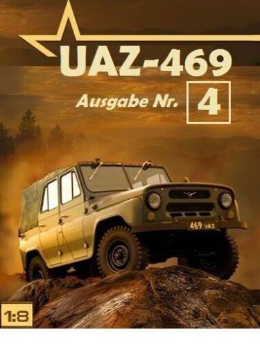 1:8 uaz-469 DeAgostini salida nº 4