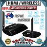 NEW! 5.8GHz HDMI WIRELESS AV Sender TV Wireless AUDIO VIDEO Transmitter Receiver
