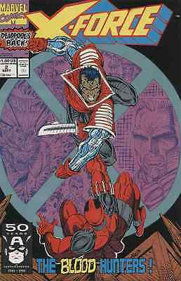 Glorious X-force #2 Near Mint 1991 Marvel Comics Skillful Manufacture Modern Age (1992-now)