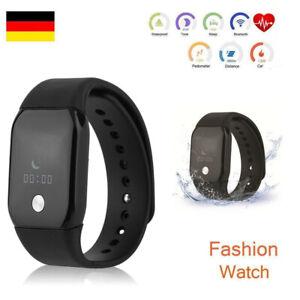armbanduhr smartwatch led digital uhr damen herren kinder sport silikon fitness ebay. Black Bedroom Furniture Sets. Home Design Ideas