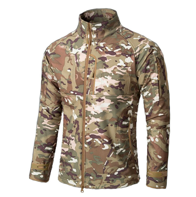 Outdoor Military Army Tactical Suit  Soft Combat Hunting Camouflage Uniform  first time reply