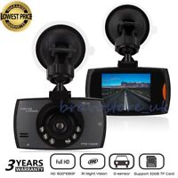 "2.7"" HD 1080P In Car DVR vehicle Camera Dash Recorder G-Sensor Night Vision uk"