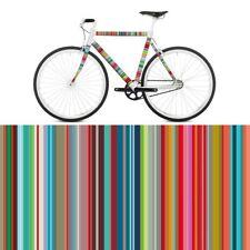 RadKleid Micro Stripes Fahrradfolie Fahrrad Rad Sticker Aufkleber Bunt Streifen