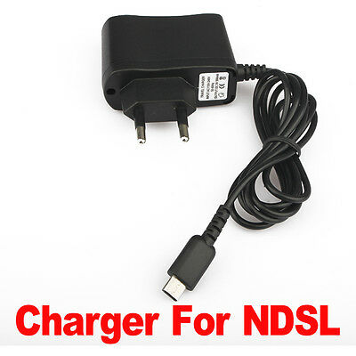 EU Travel Travelling Home Wall AC Power Adapter Charger fr Nintendo DS Lite NDSL