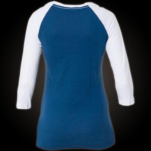 Pullover Sweatshirts Damen weiß Blau Affliction Chance Erin pxT7zqU5n