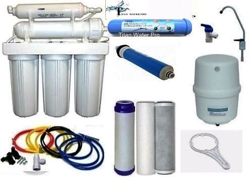 RO -Reverse Osmosis Alkaline/Ionizer ORP Water Filter System 50 GPD 6 Stage B