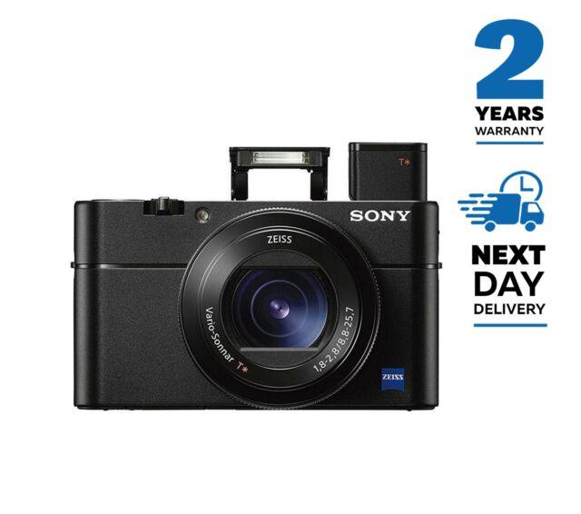 Sony Cyber-Shot DSC-RX100 V 20.1MP CMOS Digital camera nero-consegna gratuita nel Regno Unito
