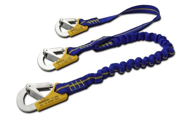 Y-Lifeline stretch flexibel 3-Punkt bis zu 2m blau DIN EN 1095ARBO-INOX