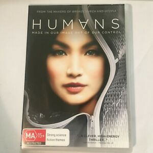 HUMANS-SEASON-1-DVD-3-DISCS-SCI-FI-SERIES-R4-VGC-FREE-POST