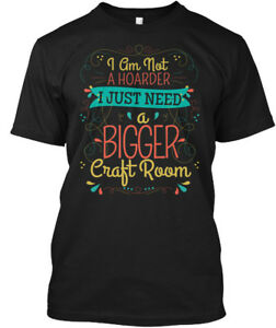 Easy-care-Crafting-Scrapbooking-I-Am-Not-A-Hoarder-Hanes-Tagless-Tee-T-Shirt