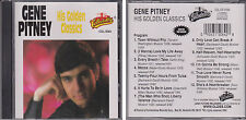 GENE PITNEY His Golden Classics 1994 Collectables CD Town Without Pity Oldies